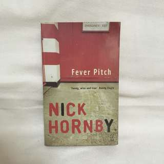 Fever Pitch book by Nick Hornby 📚 | 📖 B24