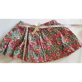 OshKosh floral skirt