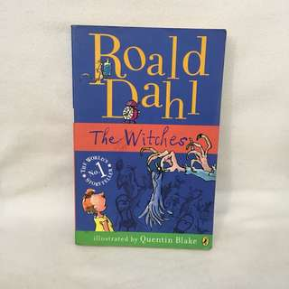 The Witches book by Roald Dahl 📚 | 📖 B34