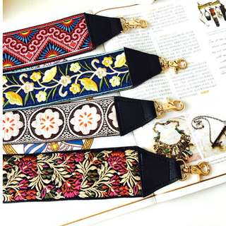 embroidery bag strap