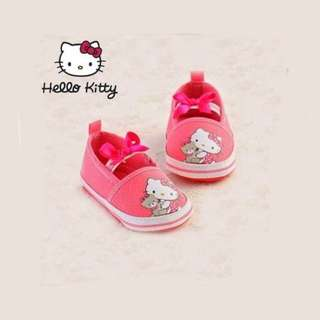 HELLO KITTY Pink Mary Jane Pre-walker Shoes - Soft Soles