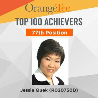 OrangeTee Top Achiever 2017: 77th Position