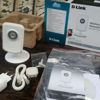 Dlink wireless ip cloud camera