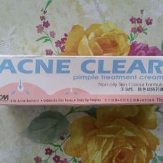 ACNE CLEAR PIMPLE treatment cream