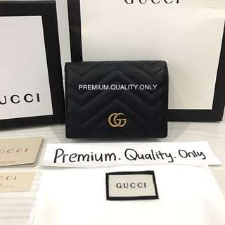 Customer's Order GG Marmont leather card case mini wallet