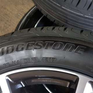 New 205/50/17 Bridgestone tyres
