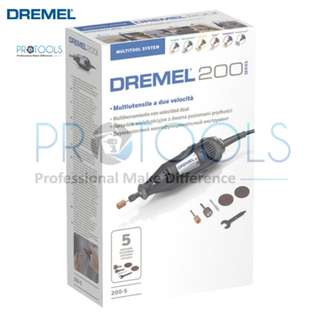 Dremel 200-5 Corded Rotary Tool Comes with 5pcs Accessories - F0130200JB