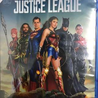 JUSTICE LEAGUE BLURAY