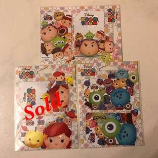 Tsum Tsum Ezlink Card Stickers