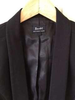 Bardot cropped blazer