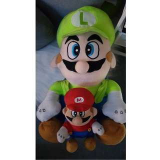 Super Mario Bros. Plushies (Mario and Luigi)