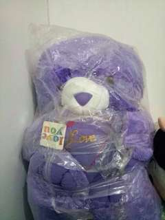 Boneka teddy bear/jumbo/1meter