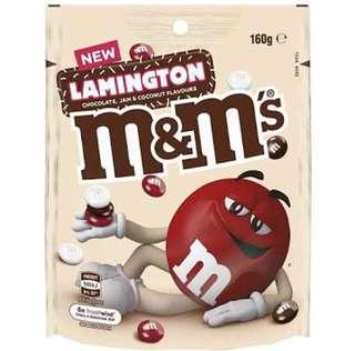 M&M's Lamington