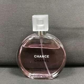 Chanel Chance 50ml 陳列品應末使用最後一支