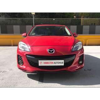 MAZDA 3 SP 1.6L A/T ABS D/AB 2WD 5DR HID 4EAT
