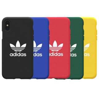 Adidas 手機殼 正品 iPhone X Phone Case 彩色 硬背殼 加四邊軟邊 保護 2018新款