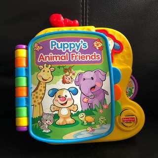 Fisher Price Puppy's Animal Friends Sound Book