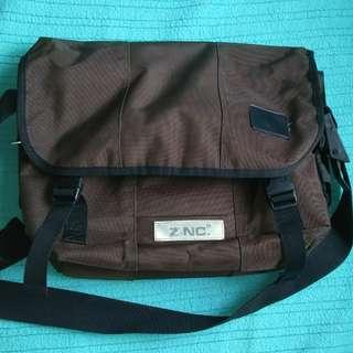 Authentic ZiNC. Men's Heavy Duty Messenger Bag Sling Bag