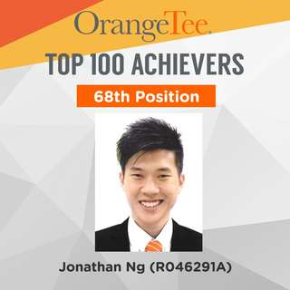 OrangeTee Top Achiever 2017: 68th Position