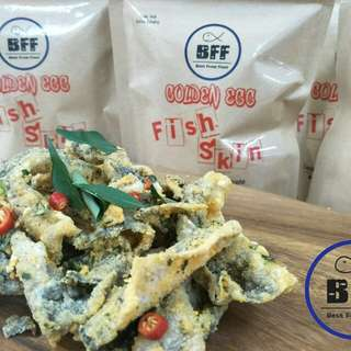 BFF salted egg fish skin 咸蛋鱼皮
