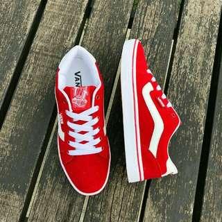 S1 Vans Tnt Red