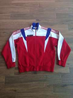 Vintage 90's Adidas Trefoil X Decathlon Trainer Sports Jacket Street Wear