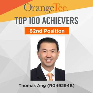 OrangeTee Top Achiever 2017: 62nd Position