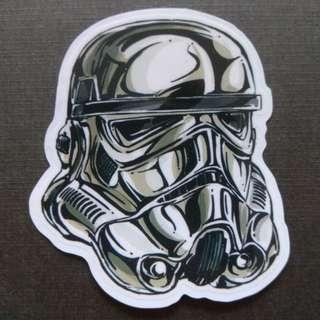 Star Wars Storm Trooper Graffiti Sticker Laptop Luggage Skateboard