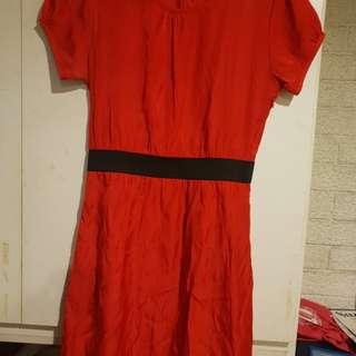 Apple & Eve Red Dress