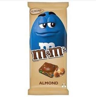 M&M's Chocolate Bar