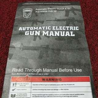 automatic electric gun(airsoft)