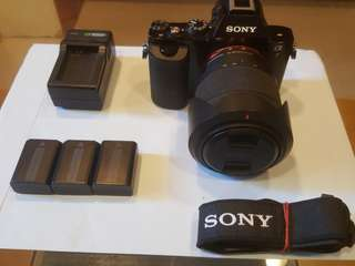 sony a7 α7 with 28-70lens