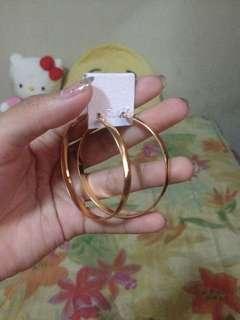 🌺 Hoop earrings