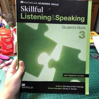 🚚 Skillful listening & speaking 3