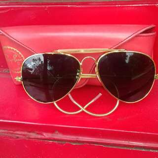 Rayban BL Aviator 4556 Sunglasses Original