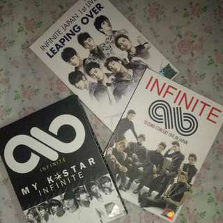 Infinite UNOFFICIAL DVD