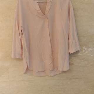 Uniqlo七分袖上衣