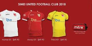 Simei United Jerseys 2018