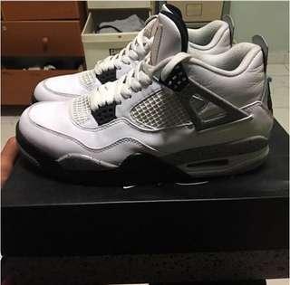 Jordan 4 OG white cements