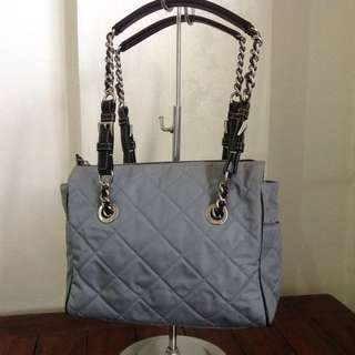 Authentic Prada quilted chain shoulder bag
