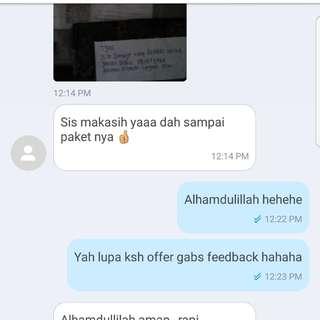 Customer Feedback! ♥