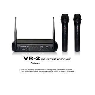 Kevler Professional VR-2 Dual Wireless Microphone