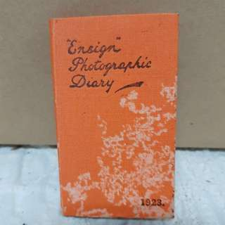 #0329- 1923 Ensign Photograpic Diary