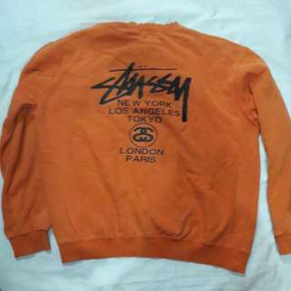 Crewneck Stussy Made In Usa