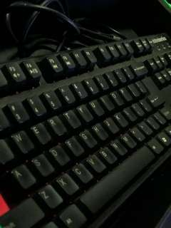 Steelseries Mechanical Keyboard 6GV2 Cherry Red Switches