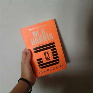 (ENGLISH) The Joshua Files: Invisible City by M. G. Harris