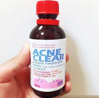 ACNE CLEAR PIMPLE TREATMENT LOTION