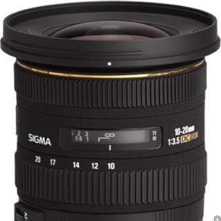 Sigma 10-20mm f/3.5 EX DC HSM Zoom Lens for Canon DSLR Camera with APS-C Sensor