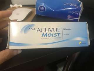 One day acuvue moist 300度