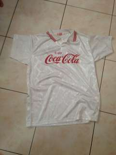 VINTAGE COCA COLA polo shirt